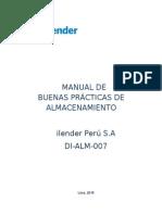 Manual de Buenas Prácticas de Almacenamiento