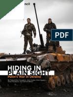 Hiding in Plain Sight - Putins War in Ukraine
