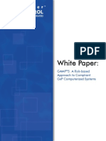 White paper Gamp5 Risk Based Approach