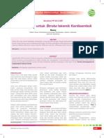 09_228CPD-Antikoagulan Untuk Stroke Iskemik Kardioemboli
