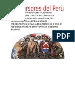 Precursores del perù