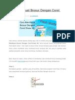 Cara Membuat Brosur Dengan Corel Draw X4