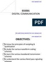digital communication notes