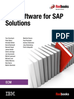 REDBOOK SAP and IBM Software Integration | Sap Se | Business