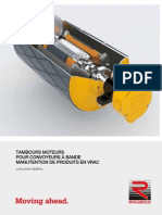 Rulmeca Cata Bulk Motorized Pulleys (Tambour D1 RulMeca)