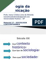 Slides Sbooooc Comun 2015 Mat 17 Sociologia Contemporânea 4 Bim
