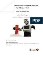 Object Recognition on the REEM robot