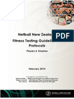 NNZ Fitness Testing Guidelines Protocols 2014 Final