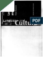 Language and Culture Kramsch 2012