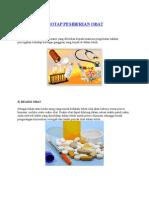 protap pemberian obat