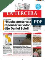 Diario La Tercera 17.11.2015