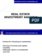 5 Real Estate Investment Analysis