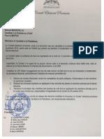 Lettre CEP à Samuel Madistin