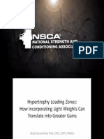 Hypertrophy Loading Zones