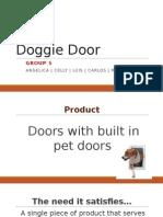 revised powepoint - doggie door
