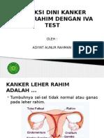 Deteksi Dini Kanker Leher Rahim Dengan Iva Test
