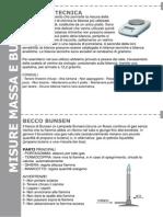 Scheda Laboratorio - Bilancia Tecnica e Becco Bunsen
