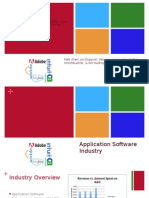 application software industry project