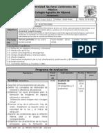 Plan de Evaluación Tercer Periodo Área II grupo 6010