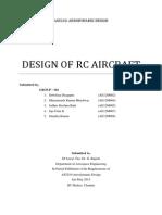 241245012 Aircraft Design
