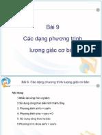 1 Phuong Trinh Luong Giac Co Ban Dh 307