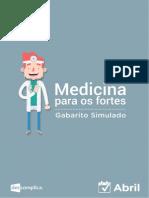 MedicinaFortes Gabarito Simulado Abril