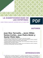 La Diabetogenicidad de Las Estatinas