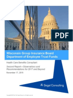WI Group Insurance Board Segal Report