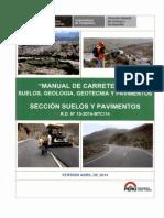 Seccion Suelos y Pavimentos Manual de Carreteras