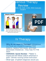 intravenous therapy review