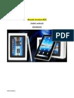 Manuale Istruzioni Android ITA