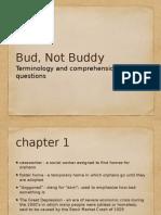 bud terminology
