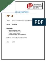 Laboratorio 3 de Mecanica