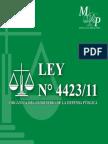 Ley 4423-11 Defensa Pública - PY