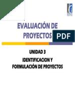 03 Unidad 3 Preparacion y Formulacion de Proyectos