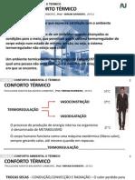 CONCEITOS CONFORTO TÉRMICO Aula 13