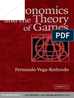 Vega-Redondo - Economics and the Theory of Games