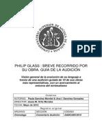 Philip Glass Breve Recorrido Por Su Obra