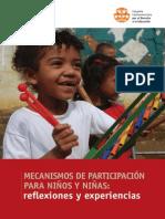 Mecanismos de Participación Para Niños y Niñas