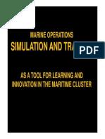 Marine Simulator Training