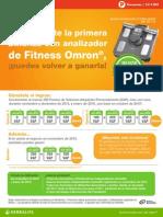 Descubre como Ganarte tu Peso Electrónico Fitness Omron