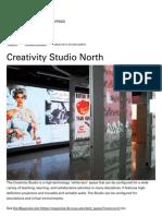 """""""Creativity Studio North"""" NCSU Libraries"""