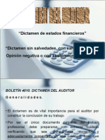 Dictamen Financiero 4010 y 4020