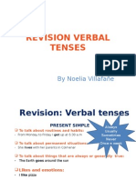revision verbal tenses