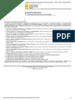 Legislación Nacional - REBT - Titulación Instalador de Baja Tensión- Legislación Sobre Seguridad Industrial - Industria y PYME - Mº de Industria, Energía y Turismo