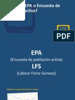 41. La EPA o Encuesta de Poblacion Activa