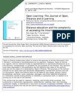 Articulo La Educaciòn a Distancia