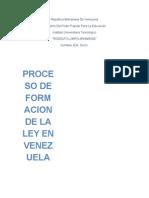 Legislacion Bancaria Proceso de Formacion de La Ley en Venezuela