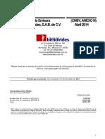 Informe 2013 Benavides