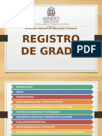 Registro de Grado Infome de Aprendizaje (Final).ppt